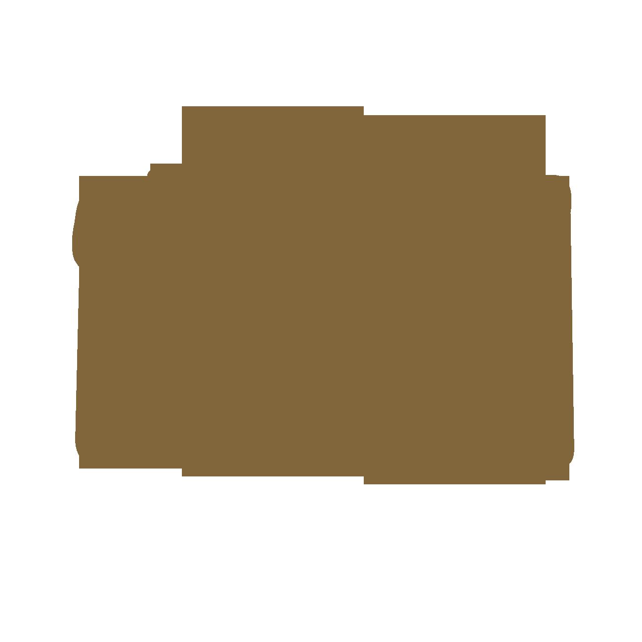 バッグのシルエット